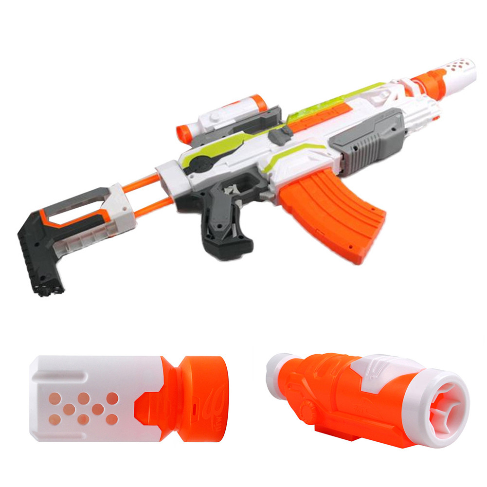New Hot Sale Toy Sighting Device Toy Muffler Aiming Device Compatible with NERF Series Toy Gun