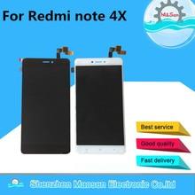 """5.5 """"م & سين ل شاومي Redmi نوت 4X نوت 4 النسخة العالمية شاشة LCD عرض + محول رقمي يعمل باللمس الإطار أنف العجل 625 ثماني النواة"""