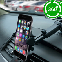 The New Car mobile phone bracket GPS Applicable to 5.5-8.5cm wide mobile phone Super strong suction car bracket Sucker type