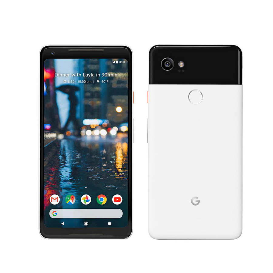 Brand New EU Version Google Pixel 2 XL Mobile Phone 6.0 4GB RAM 64GB/128GB ROM Snapdragon 835 Octa Core Fingerprint Smart Phone image