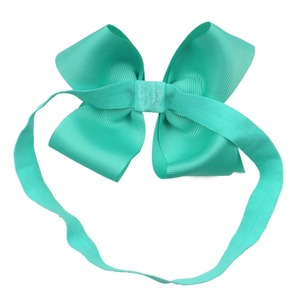 Image 5 - 30 Pcs Colors 4.5 inches Grosgrain Ribbon Baby Girls Hair Bows Headbands for Infants Newborn and Toddlers