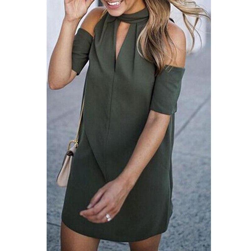 New Women Summer Casual Sleeveless Evening Party Beach Dress Mini Dress