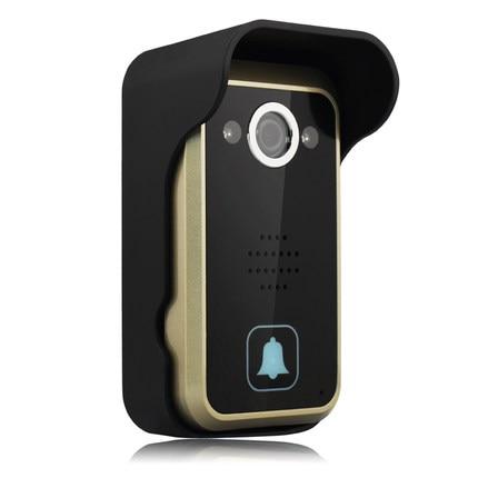 wi-fi video doorbell, Wi-Fi Doorbell, WIFI Visual intercom doorbell/Wifi video doorbell with IR