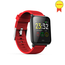 цена на 2019Smart Band Heart Rate Blood Pressure Monitor Colorful Screen Smart Bracelet Wristband Watch for android IOS Phone pk mi band