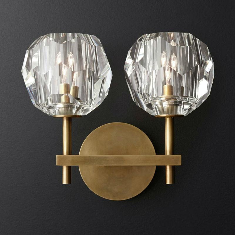 Livewin Wandleuchte Kristall Wandleuchte Luxuriöse Leuchte Loft Wandlamp Led Wandleuchten Schlafzimmer Eisen Applique Lamparas Leuchten|LED-Innenwandleuchten|Licht & Beleuchtung -