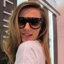 Vintage Oversized Gradient Sunglasses Women Fashion Brand De