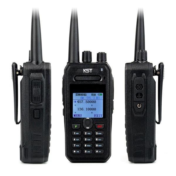 KST UV F1000 Fashionable Portable DUAL BAND Ham Radio with 8W HIGH POWER Long Distance Walkie