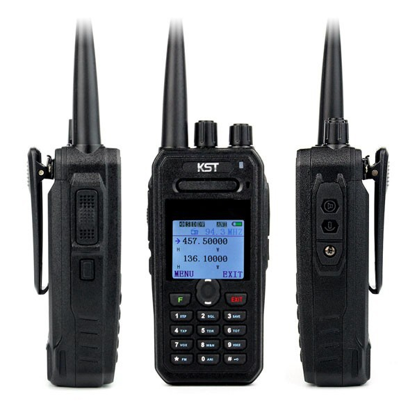 KST UV-F1000 Fashionable Portable DUAL BAND Ham Radio With 8W HIGH POWER Long Distance Walkie Talkie 4500Mah Li-ion Battery