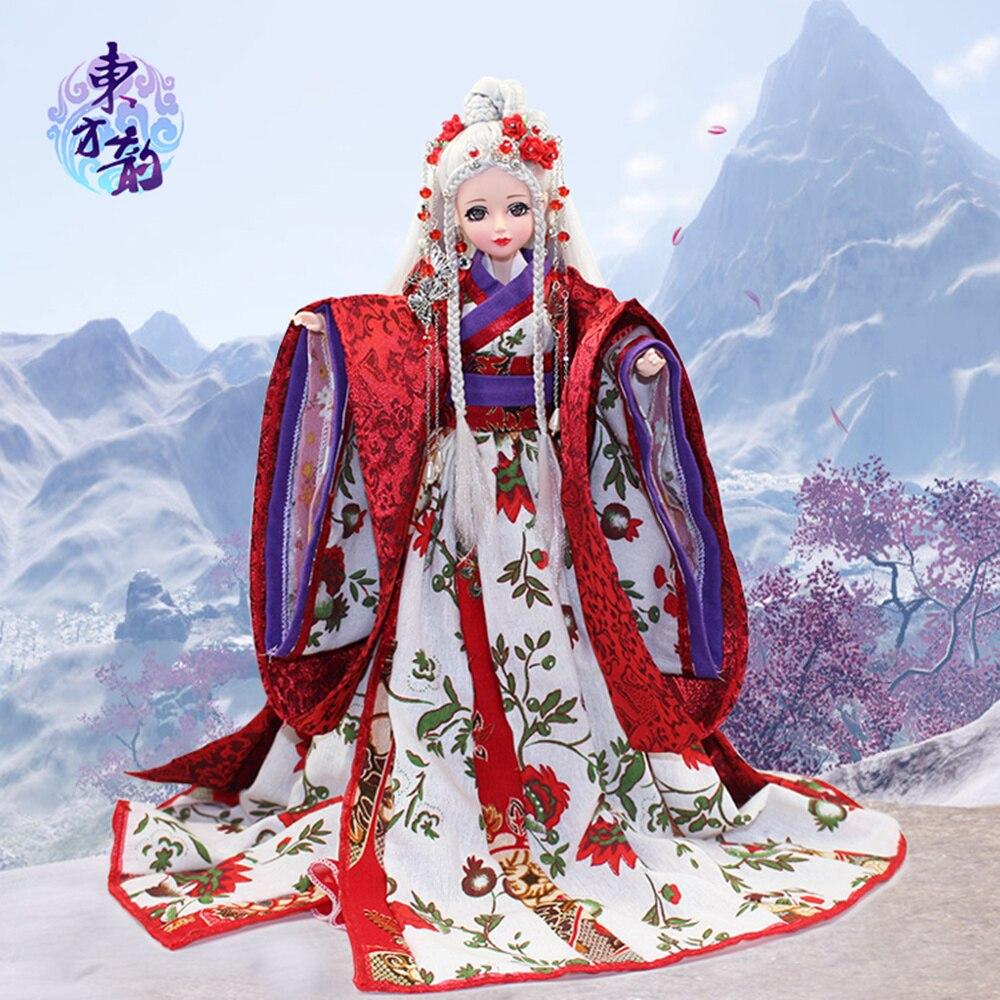 East Charm costume poupée 1/6 comme BJD Blyth poupées Bai Hu avec maquillage dernière édition limitée cadeau haute qualité jouets 14 joint body