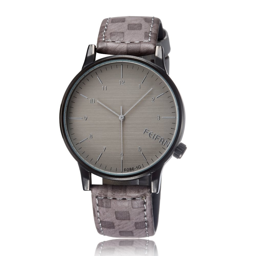 online shop feifan brand simple men watches exquisite arabic online shop feifan brand simple men watches exquisite arabic numerals leather strap charm boy quartz analog wristwatch classic clock relojes aliexpress