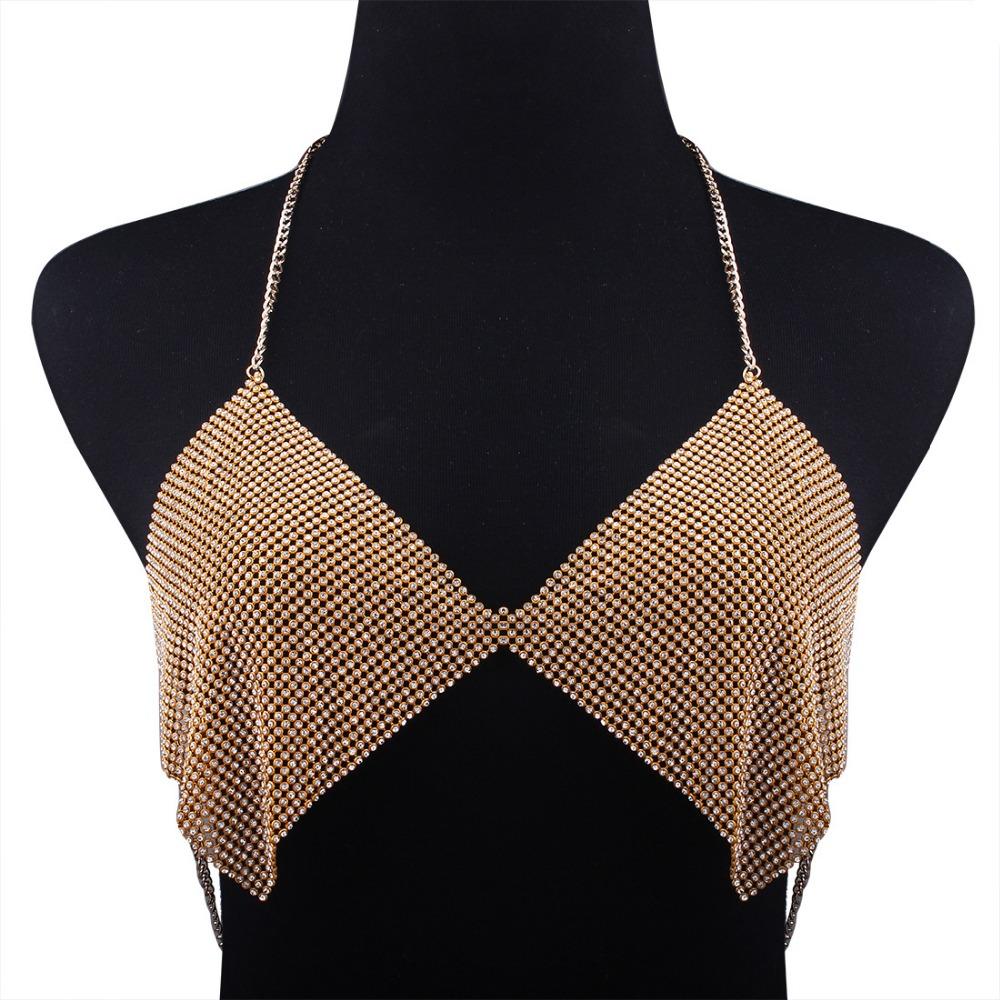 HTB1GiB.RVXXXXaYXVXXq6xXFXXXl Contouring Crystal Beaded Bikini Bra Chain for Event Party and Functions Women Boho Bra Body Chains