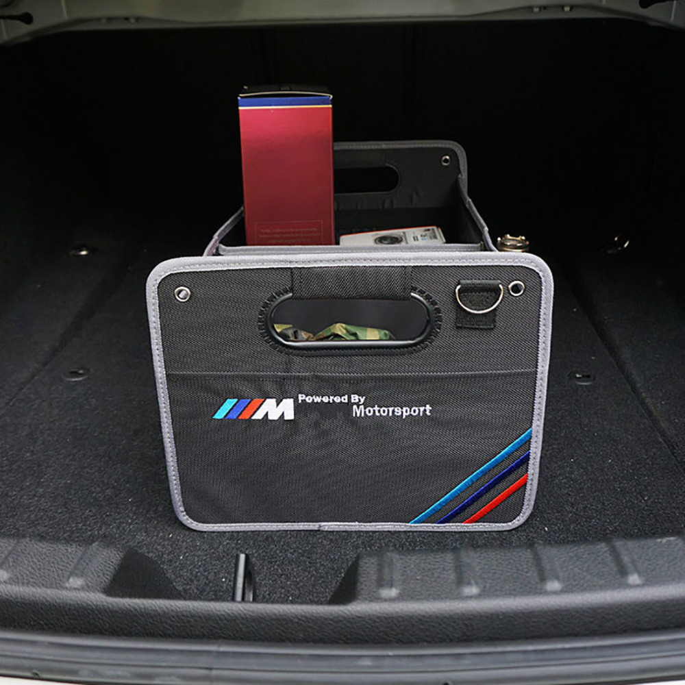1PC Trunk Foldable Large Capacity Vehicle Storage Box for BMW Audi X5 X6 E90 E91 E92 E93 M3 E60 E61 F10 F30 M5 E63 E64 Trunk Bag car led door logo projector ghost shadow light for bmw 3 5 6 7 m3 m5 e60 e90 f10 e63 f30 e64 e65 e86 e92 e85 e93 e61 f01 f02 gt