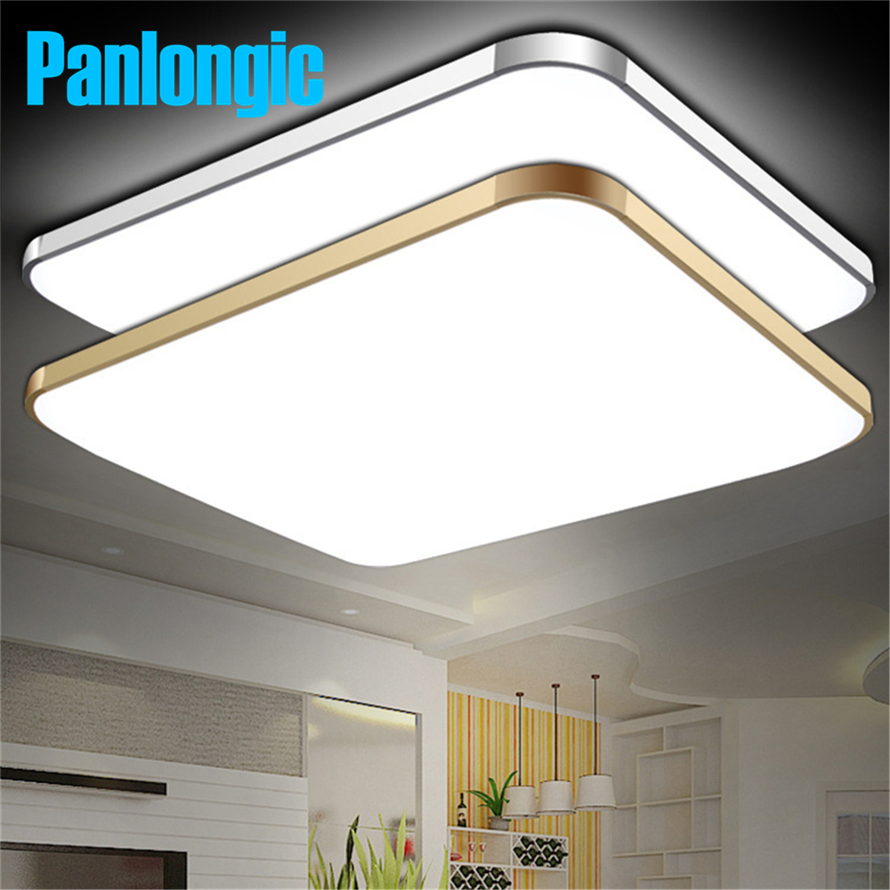 Surface mounted modern led ceiling lights for living room for Living room ceiling light fixture