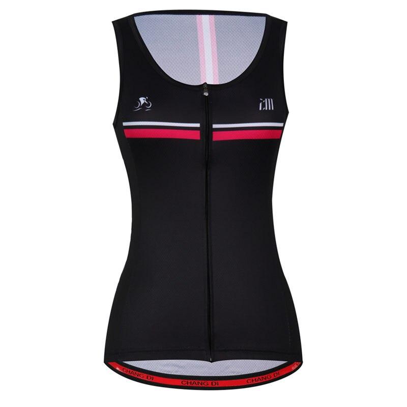 Spor ve Eğlence'ten Bisiklet Yelekleri'de ZM bayanlar yaz bisiklet bisiklet yelekler ceket açık spor giyim bisiklet bisiklet kolsuz rüzgar geçirmez kadınlar için bisiklet yelek title=