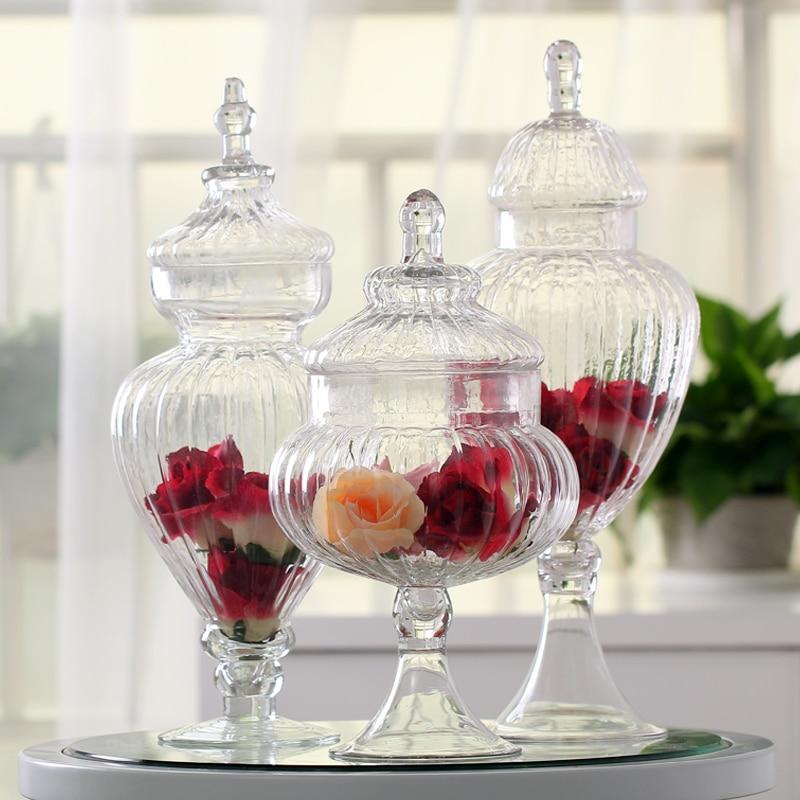 decorative glass jars with lids - Decorative Glass Jars