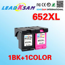 Cartucho de tinta compatível para HP652 LeadKsam 652xl DeskJet 1115 2135 3635 3775 3785 3835 4535 4675 1115 Printer(China)