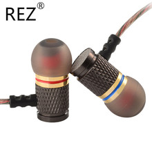 Earbuds KZ ED2 Brand Stereo Earphone Noise Isolating Stereo DJ HiFi Headset with Microphone for Mobile