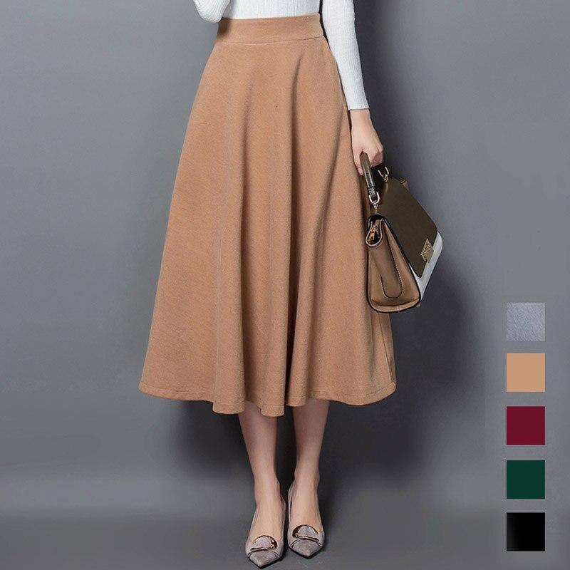 Женские юбки шерстяные