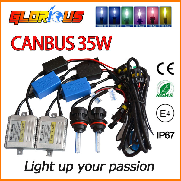 NEW!Canbus C3 35W 12V HID XENON KIT 9004 9007 HI LO xenon headlight  super white for blue CAR light bulbs,bixenon 9004 6000k 7 speeds 180w 220v 240v powered mains kitchen hand held mixer whisk household blender egg beater simple and easy to use