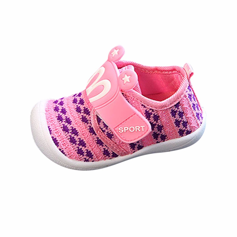 Baby Shoes Sneaker Squeaky Star Toddlerchildren Infant Cartoon Summer Rabbit-Ears Hoolow-Out
