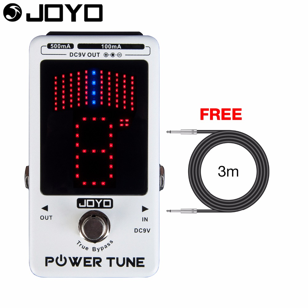 joyo power tune power supply and tuner for guitar effect pedal no crosstalk noise true bypass jf. Black Bedroom Furniture Sets. Home Design Ideas