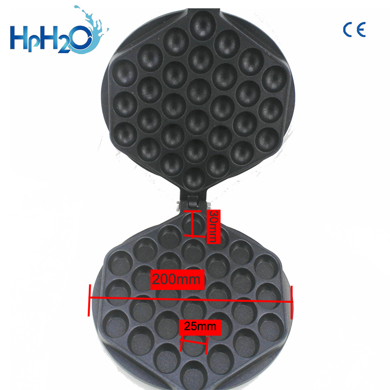 Image 4 - Commercial Electric 110V /220V Non stick pan egg bubble waffle maker Eggettes  puff cake iron maker machine bubble egg cake oven-in Waffle Makers from Home Appliances