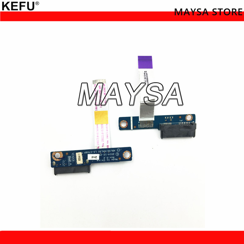 original ODD DVD connector board Fit For HP 15-A 15-AR 15-AR020 15-AC 15-AC121DX LS-C706P Optical Drive Interface Board image