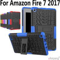 Case   For Amazon Fire 7 2017 Kids Safe Kickstand Shockproof Hard Silicon   Tablet     Case   Cover For Amazon Fire 7 inch 2017 Version