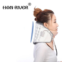 Neck Support Braces Household Cervical Collar Air Traction Therapy Device Relax Pain Relief Tool Universal Size Health Care