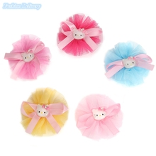 10pcs/lot Cute Lace Ribbons Bow-knot Hello Kitty Hairpins Hair Clips Girls Hair Accessories Styling Tools Trinkets For Children