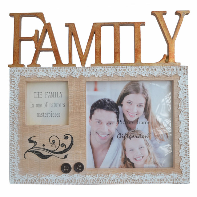 4x4 Picture Frame Family Personalized Photo Frames For Photo Display ...