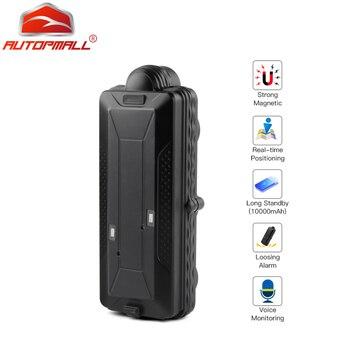 GPS GSM WIFI GPS трекер позиции автомобиля Водонепроницаемый IPX7 TK10 магнит SD автономный регистратор данных отслеживание батареи 10000 мАч сигнализац