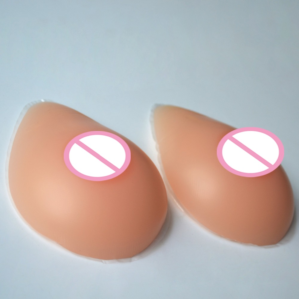 1Pair 36A Cup(300g) Silicone Breast forms Mastectomy Artificial Silicone Fake Breast For Crossdressers And Transvestites 300g piece size6 85c 90b 95a natural silicone breast forms for mastectomy women breast implants not breast enlargement surgety