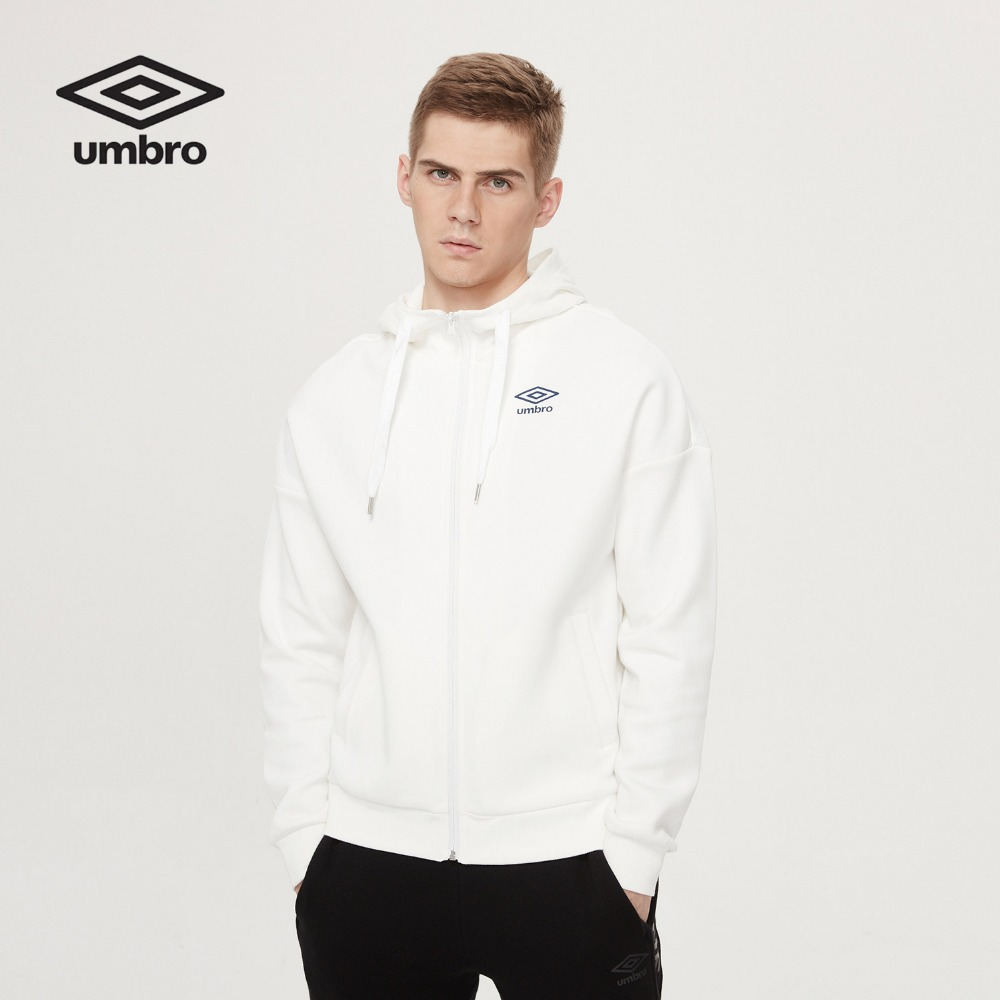 Umbro 2017 Men Long Sleeved Cardigan Hoodie Coat New Sportswear Men s Sports Suits Training Jacket