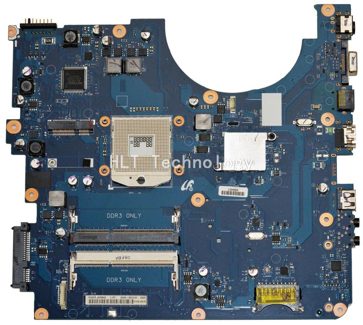 HOLYTIME Laptop Motherboard For Samsung R540 R580 BA92-06761A HM55 DDR3 integrated graphics card 100% fully testedHOLYTIME Laptop Motherboard For Samsung R540 R580 BA92-06761A HM55 DDR3 integrated graphics card 100% fully tested