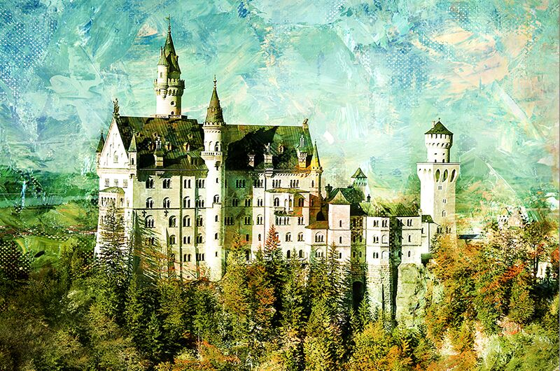 New Swan Castle The wooden puzzle 1000 pieces ersion paper  jigsaw puzzle white card adult children's educational toys virgo the wooden puzzle 1000 pieces ersion jigsaw puzzle white card adult heart disease mental relax 12 constellation toys