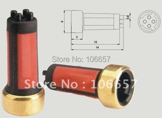tuning and high performance store  Hot sale 200pcs fuel injector filter basket filter micro filter for bosch fuel injector 14*6*3mm