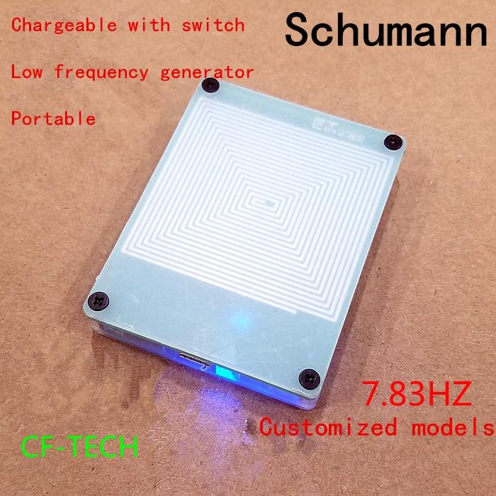 1pcs Music hall 7.83Hz Schumann Resonance Ultra low Frequency Pulse Generator & Audio Resonator FM783 Schumann wave Generator|Signal Generators| |  - title=
