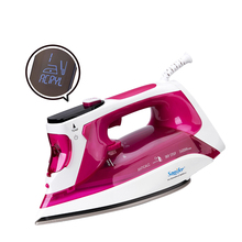 лучшая цена 2400W Digital High quality laundry home appliances Electric Steam Iron with LCD displav soleplate iron for ironing Sonifer