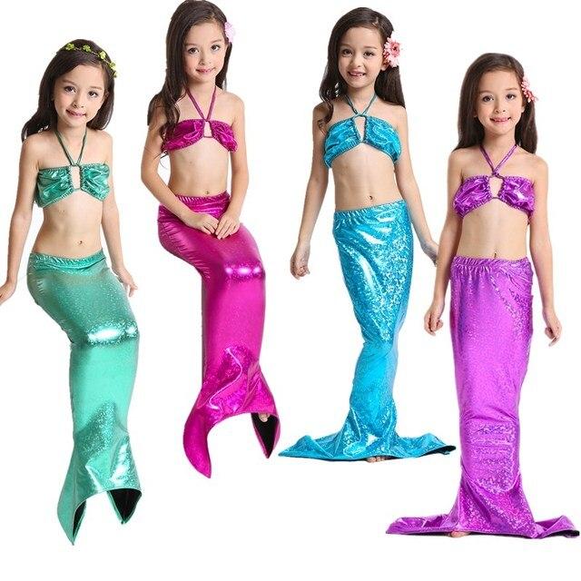 Child Little Mermaid Bathing Suit Ariel The Little Mermaid Costume Mermaid Kids Mermaid Tails  sc 1 st  AliExpress.com & HOT! Child Little Mermaid Bathing Suit Ariel The Little Mermaid ...