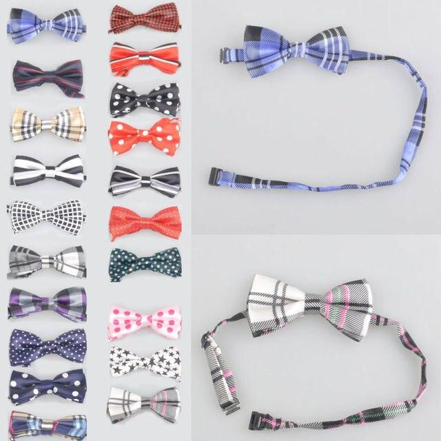 Neue Kinder Muster Bowtie Pre gebunden Hochzeit Krawatte 20 STYLES ...