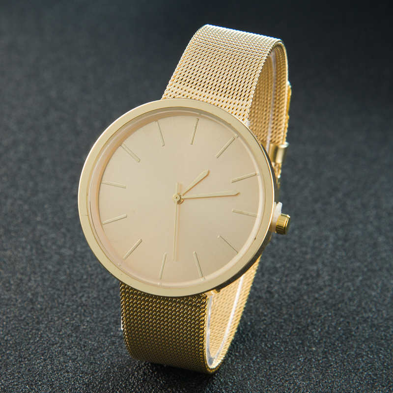 Gold Sliver Mesh Stainless Steel Mesh Watches Women Top Brand Luxury Casual Clock Ladies Wrist Watch Relogio Feminino Gift
