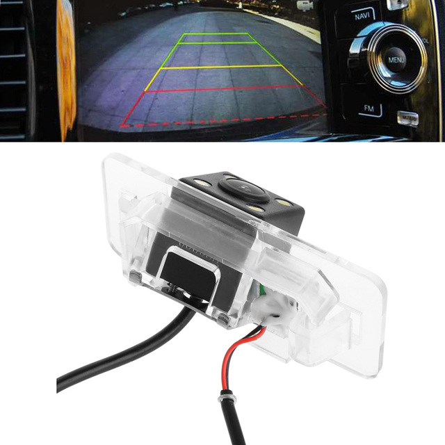 CCD Color Car Back Up Rearview Reverse Camera For BMW E46 E39 BMW ...