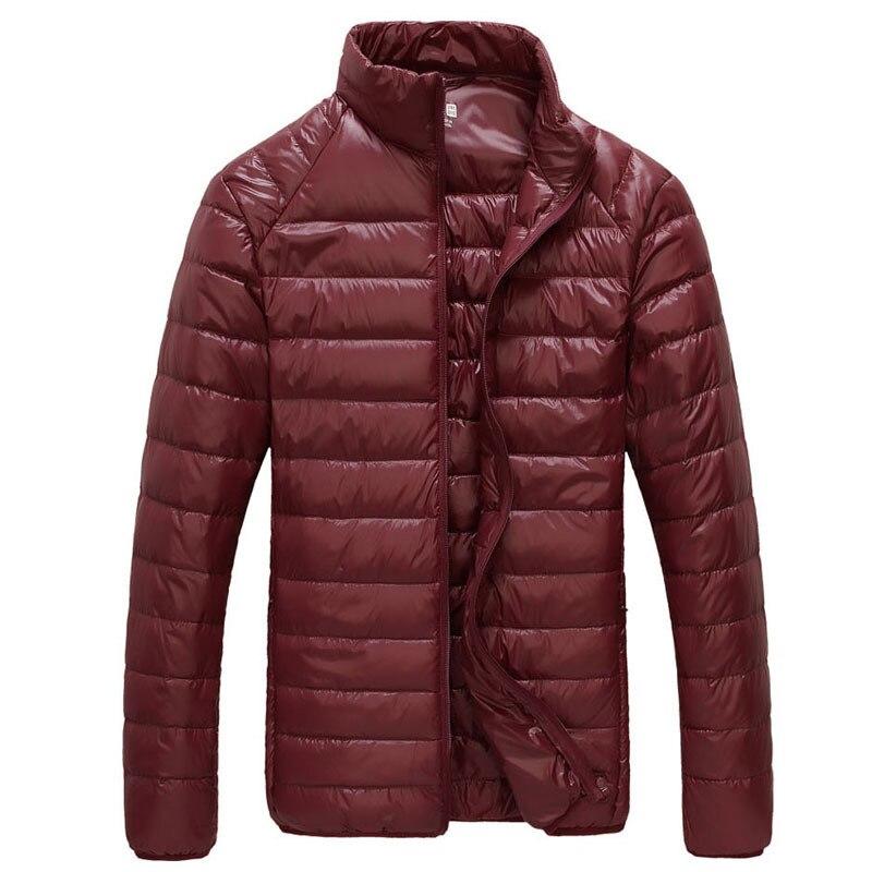 90% White Duck Down Jackets Men Hooded Ultra Light Down Jackets Warm Outwear Coat Parkas Outdoors Men's Winter Autumn Jacket