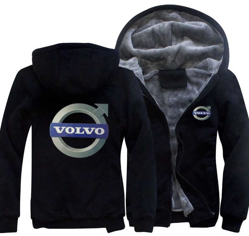 Kinggo Custom Mans Hooded General Motors Volvo Cars Logo Cool Sweatshirt