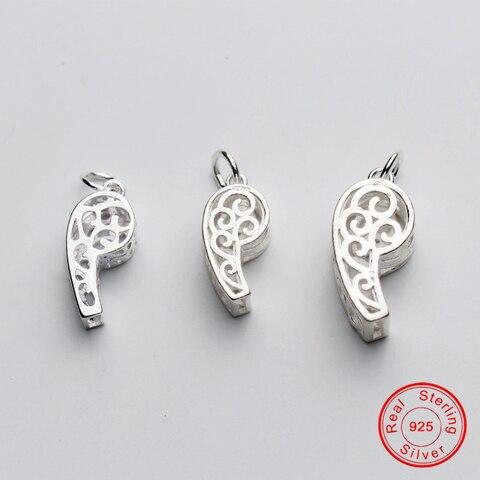 Uqbing бижутерия оптовая продажа серебряный цвет свисток шармы