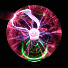 Novelty Crystal Plasma Ball Magic Sphere Light 3 4 5 6 inch Holiday Lights Table Night Lamp Kids Room Decor Gift Box Lightning