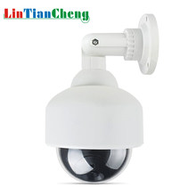 LINTIANCHENG Fake Home Security Video Surveillance Met Rode Led Outdoor Waterdichte CCTV Dummy Camera Dome Gratis Verzending(China)