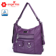 AngelKiss Brand Fashion Ladies Casual Handbag Top Handle Satchel Shoulder Bag Daily Handbag Crossbody Bag with Free Gift недорого