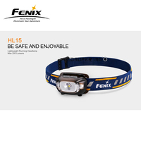 Original Fenix HL15 Cree XP G2 R5 LED 200 Lumens Lightweight Running Headlamp with 2 Free AAA Batteries